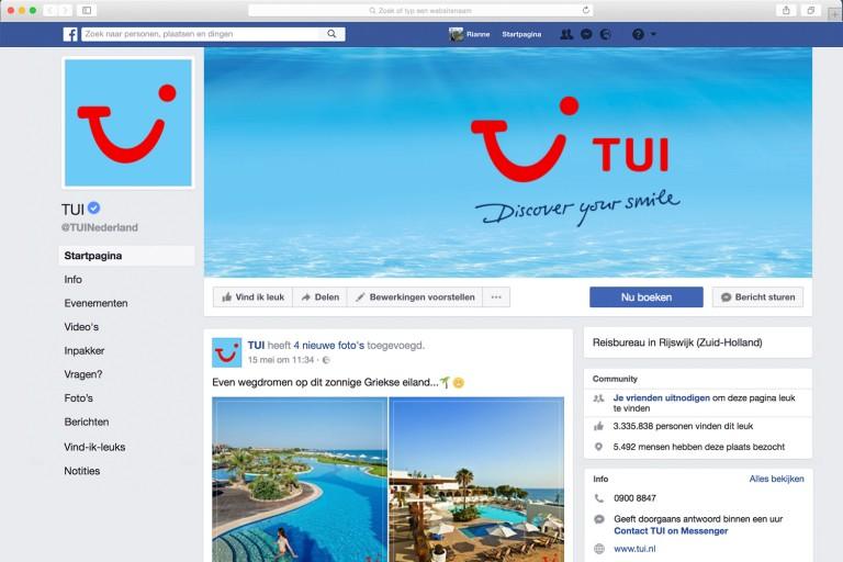TUI-socialmedia